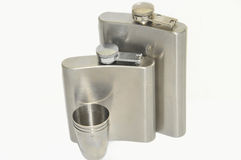 Flask Royalty Free Stock Photo