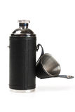 The flask of brandy Stock Photos