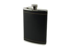 A flask for cognac  Royalty Free Stock Photo
