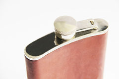 Flask isolated on white Stock Images