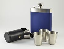 Flask camp Royalty Free Stock Image
