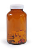 Flask of medications Royalty Free Stock Photo