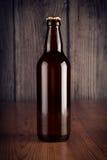 Flaska av öl Fotografering för Bildbyråer