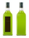 Flaska av absint Arkivbilder