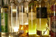 Flaska av absinth Arkivbilder