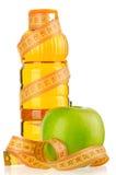 Flaska av fruktsaft Royaltyfri Fotografi