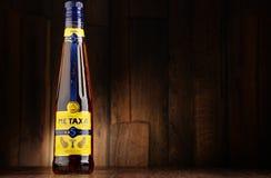 Flaska av Metaxa likör Arkivbilder