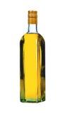 Flaska av vodka med peppar royaltyfri foto