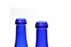 Flaska exponeringsglas Arkivfoto