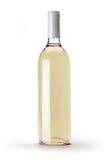 Flaska för vitt vin Arkivfoton