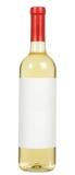 Flaska för vitt vin royaltyfri bild