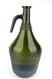 flaska isolerad gammal wine Arkivfoto