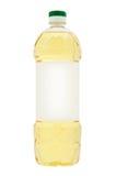 flaska isolerad plastic grönsakwhite för olja Fotografering för Bildbyråer