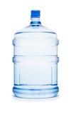 flaska isolerad vattenwhite Royaltyfri Foto