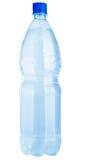 flaska isolerat plastic vatten Royaltyfri Foto