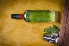 Flaska med absint Fotografering för Bildbyråer