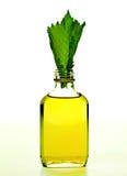 Flaska med homeopatibalsam fotografering för bildbyråer