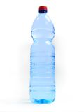 Flaska med vatten royaltyfri bild