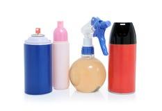 flaskcansspray Fotografering för Bildbyråer