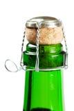 flaskchampagne Arkivfoto