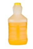 flaskfruktsaftorange Arkivfoton