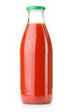 flaskfruktsafttomat Arkivfoto