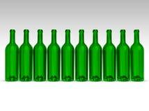 flaskgreen stock illustrationer