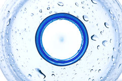 flaskhalsvatten Arkivfoto
