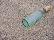 flaskmeddelande Royaltyfri Foto