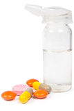 flasknässpray Royaltyfri Fotografi