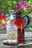 flaskolja Royaltyfri Bild
