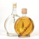 Flaskor av alkohol Arkivbilder