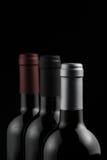 Flaskor av wine Fotografering för Bildbyråer