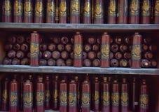 Flaskor för Riga svartbalsam Arkivfoto