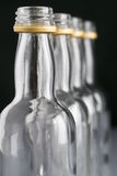 flaskor fyra Arkivbild
