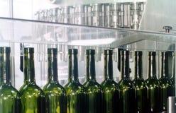 flaskor tömmer Arkivfoto