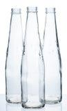 flaskor tömmer tre Royaltyfria Bilder