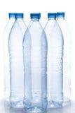 flaskor tömmer vatten Royaltyfri Bild
