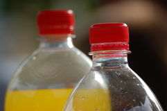 flaskor två Arkivfoto