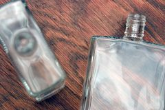 flaskor två Arkivbild