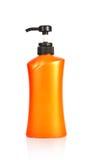 flaskplast-shampoo Arkivbild