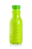 flaskplast-yoghurt Royaltyfri Fotografi