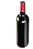 flaskrött vin Royaltyfri Foto