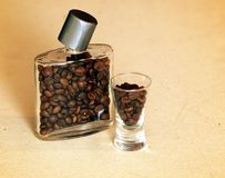 Flasks of coffee Royalty Free Stock Image