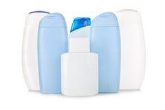 flaskskönhetsmedel isolerade white Arkivfoto