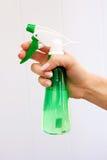 flaskspray Arkivbild