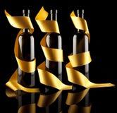 flaskwine Royaltyfri Bild