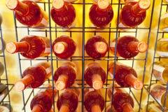 flaskwine Arkivfoto