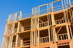Flat in aanbouw Stock Foto