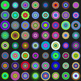 Flat abstract pattern Stock Photo